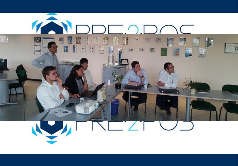 Team di sviluppo del progetto P2P