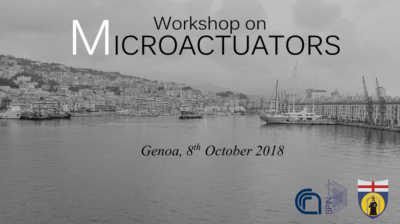 Workshop on Microactuators: locandina
